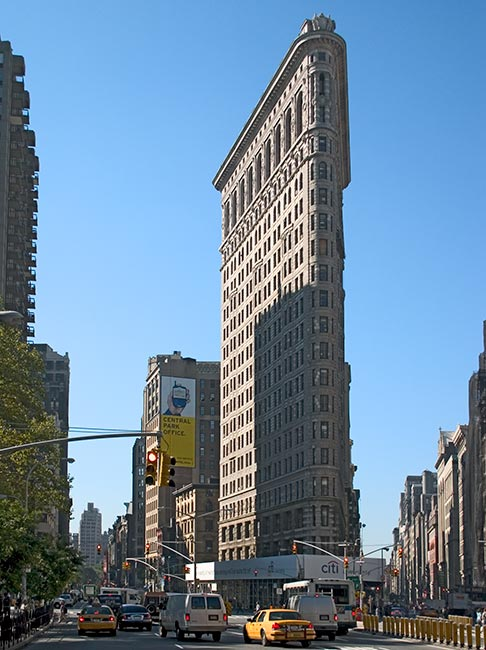 publicfigures flatiron building of new york city. Black Bedroom Furniture Sets. Home Design Ideas