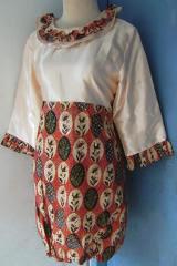 baju blus batik
