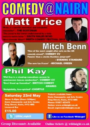 Comedy Night - this Saturday 23rd