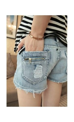 Vía Pinterest por LENNOX FASHION http://lennoxfashion.com/jeans-leggings/221-aassos-denim-shorts.html