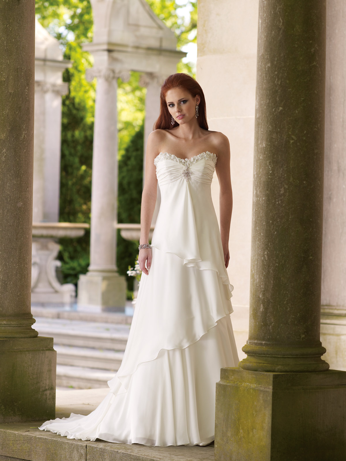 Gallery of Wedding Dress: Naomi Wedding Dress 90210