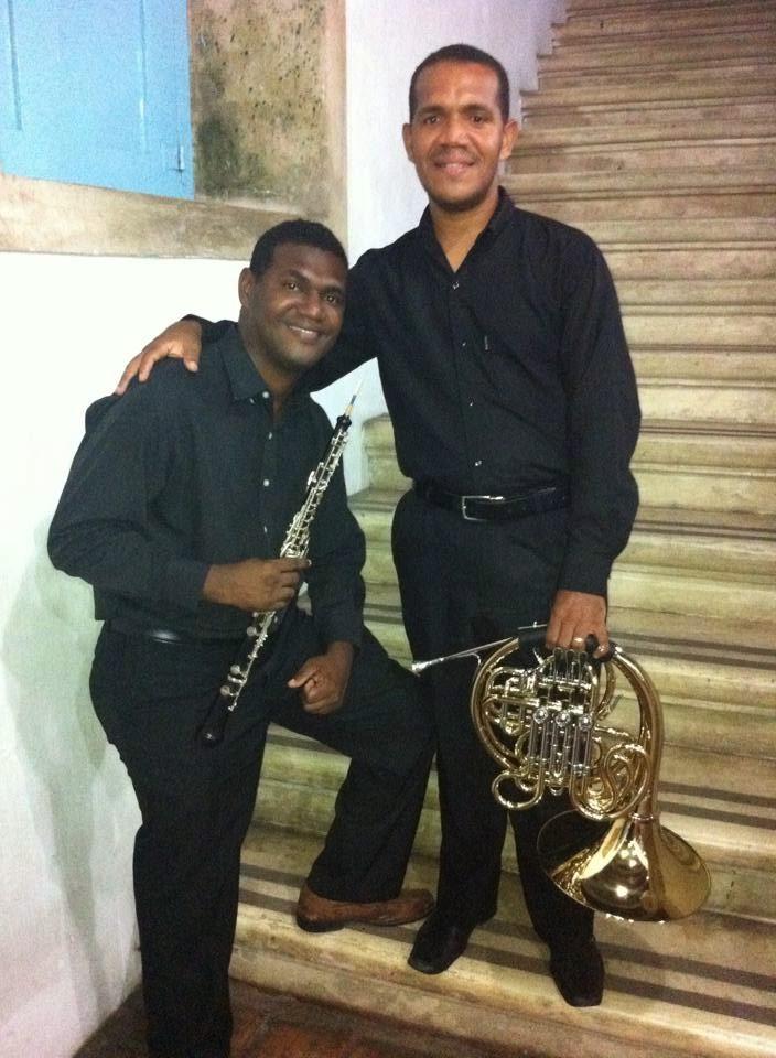 Fabiano Silva e Charles Roberto
