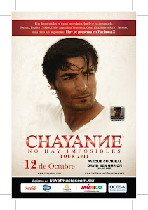 Chayanne 12 de Octubre en Mxico