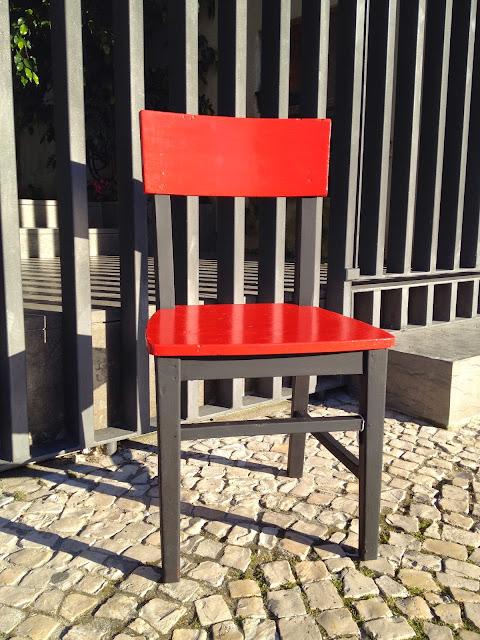 cadeira, vintage, upcycle