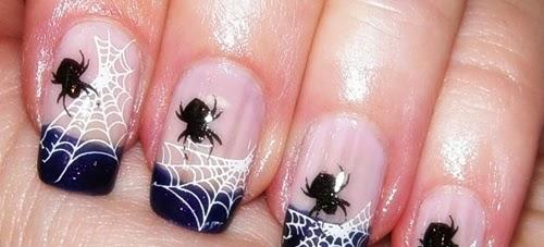 manicuras originales para halloween