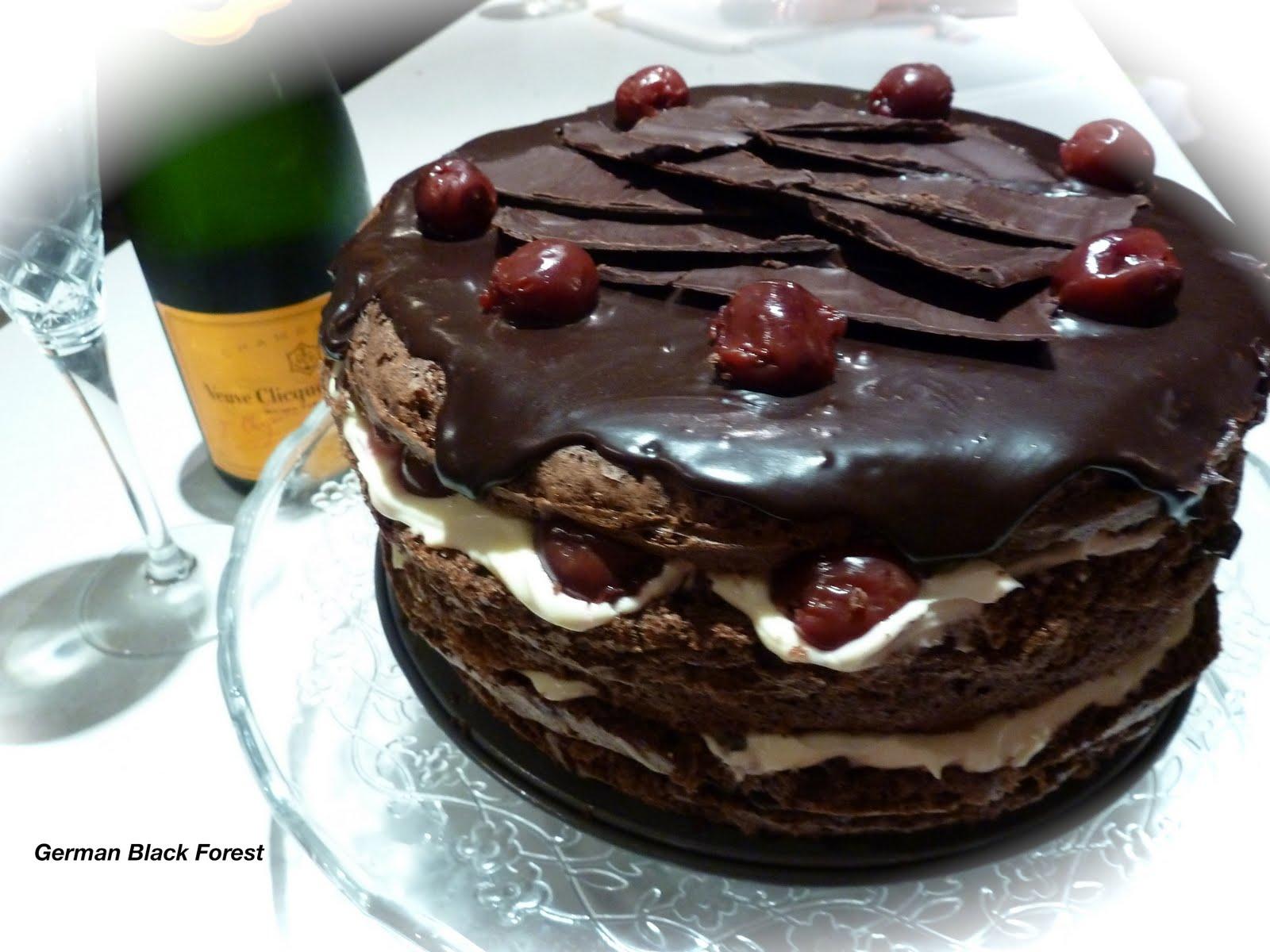 Helena s Kitchen: German Black Forest Cake