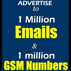 GET 1M EMAIL AND 1M GSM 0F NAIJA
