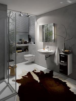 cuarto de baño decorado
