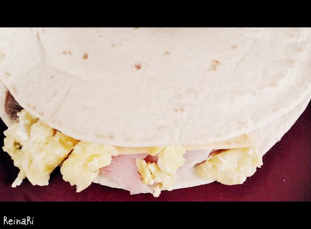 tortillas de harina baleadas