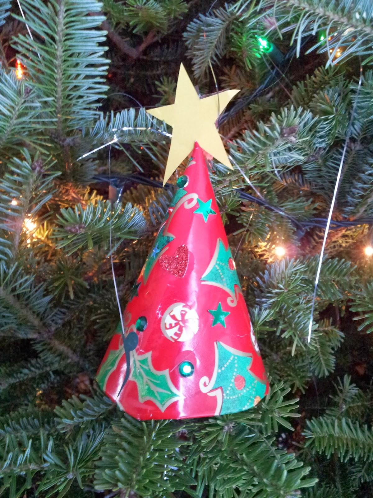 Little Townhome Love Paper Cup Ornaments Preschool
