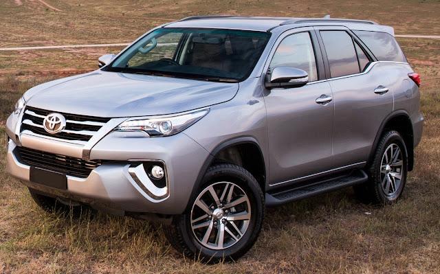 Nova Toyota Hilux SW4 2016 chega ao Brasil em dezembro | CAR.BLOG.BR