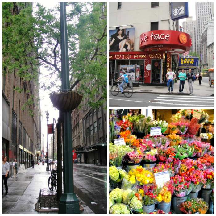 cbs, flowers and fashion district new york collage euroamericanhome.blogspot.com