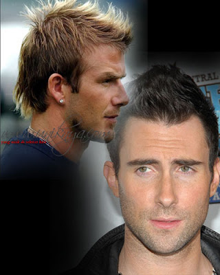 Men Hairstyles: Fauxhawk