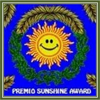 Premio Sunshine Award otorgado por Midas del blog Exquisiteces