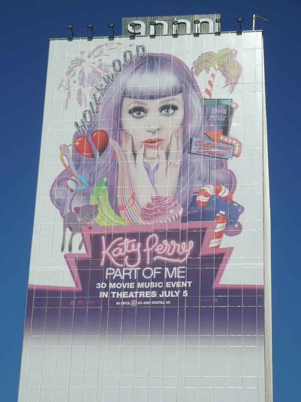 Katy Perry Part of Me movie billboard