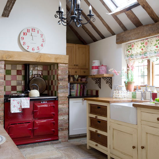 New home interior design country kitchens - Country style kitchens ...