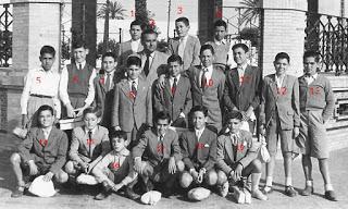 ALUMNOS DE EXCURSIÓN A CÓRDOBA AÑO 1954