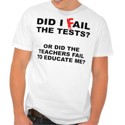 Did I Fail or Did The Teachers | Funny T-Shirt