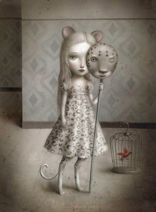 10-Nicoletta-Ceccoli-Surreal-Fairy-Tales-NOT-for-Children-www-designstack-co