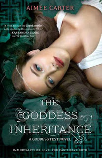 Review of The Goddess Inheritance by Aimee Carter published by Harlequin Teen