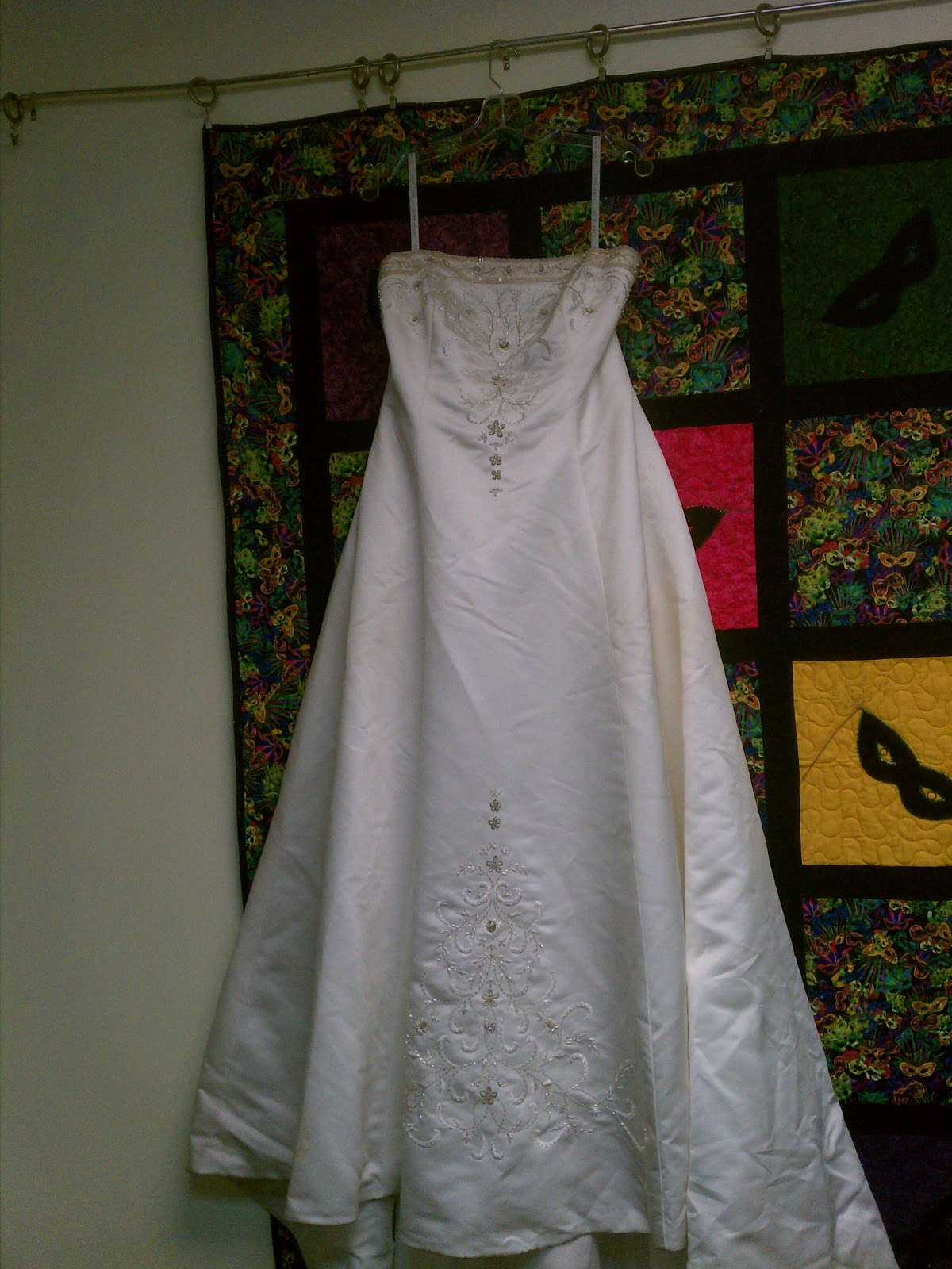 back porch quiltworks heirloom wedding dress quilt