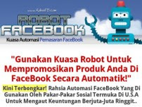 ROBOT FACE BOOK