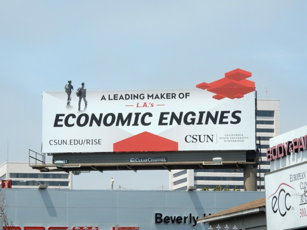 Economic Engines CSUN billboard