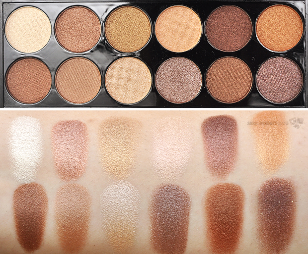 MUA Heaven and Earth Palette review and swatches