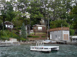 Lake house on one of the Finger Lakes in New York