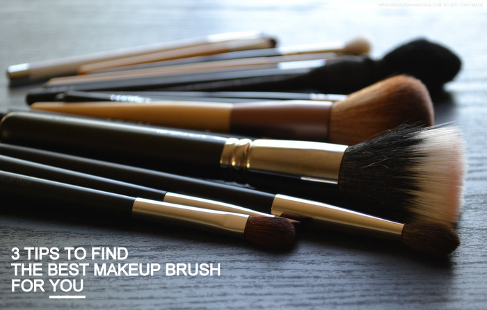 3 Tips to Buy Good Makeup Brushes on any Budget