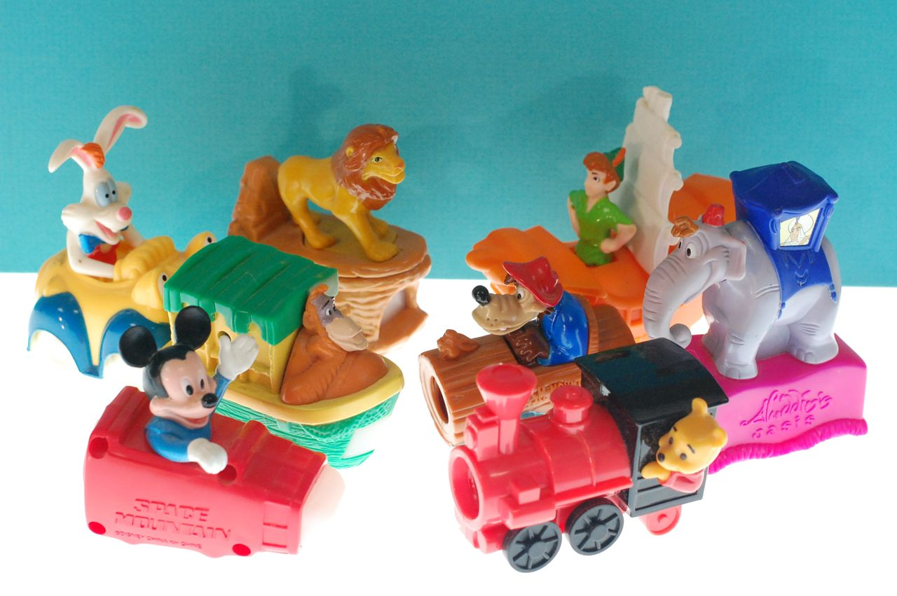 Disney mcdonald 39 s happy meal toys archives living a for Happy playsets