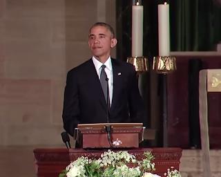 President Obama's Powerful Eulogy At Joe Biden Son's Funeral