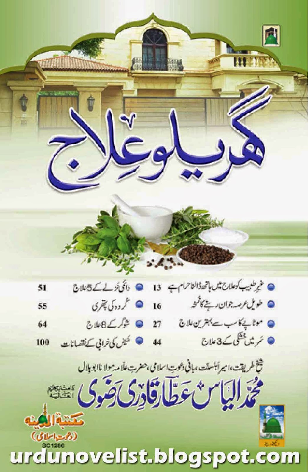 Gharelu Ilaj pdf Urdu book about health free download