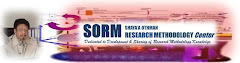 SORM - SHAYA'A OTHMAN RESEARCH METHODOLOGY CENTER