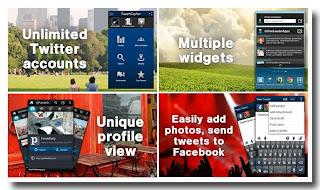 Aplikasi Twitter Untuk Android - TweetCaster for Twitter