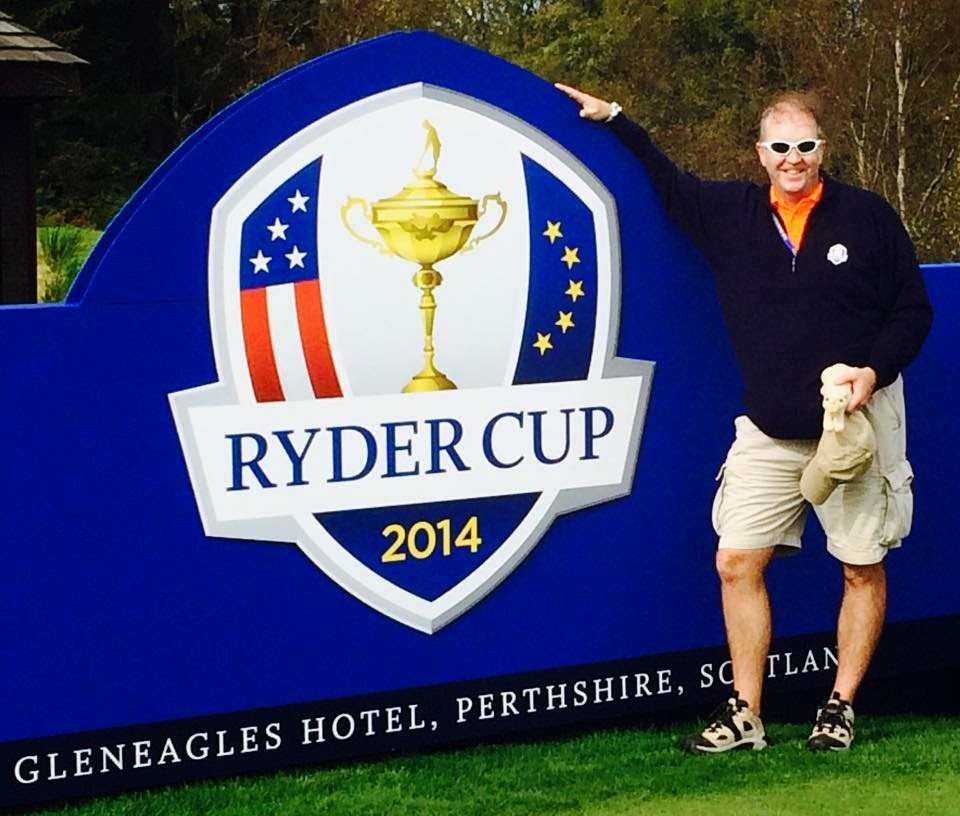 Charles at the 2014 Ryder Cup