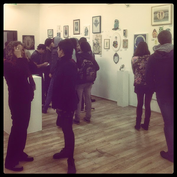 espionage gallery - winter show - 21/6/12