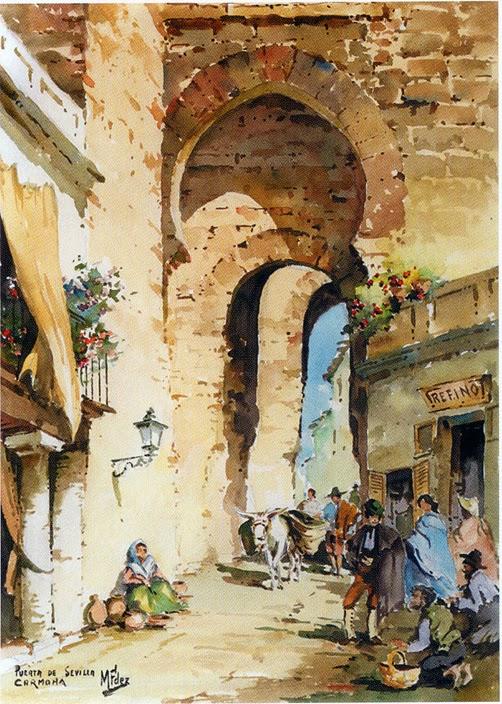 Zlati rez manuel fernandez garcia portret slikarja - Puerta de sevilla carmona ...