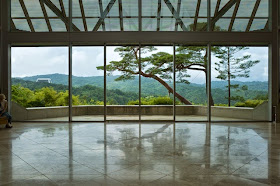 MIHO MUSEUM ロビー