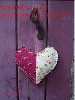 coeur à la lavande