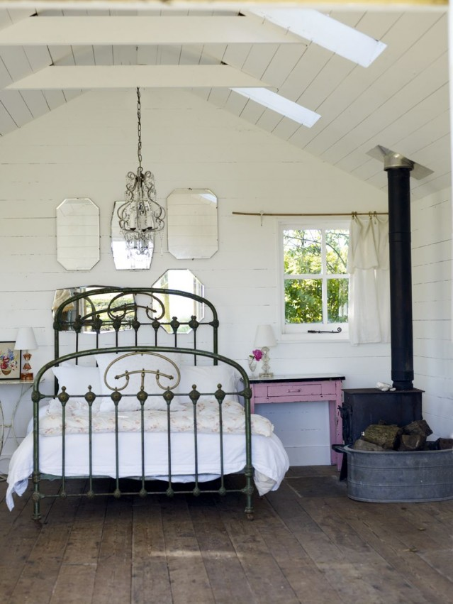 Brass Bed Frame Full Size With Slates