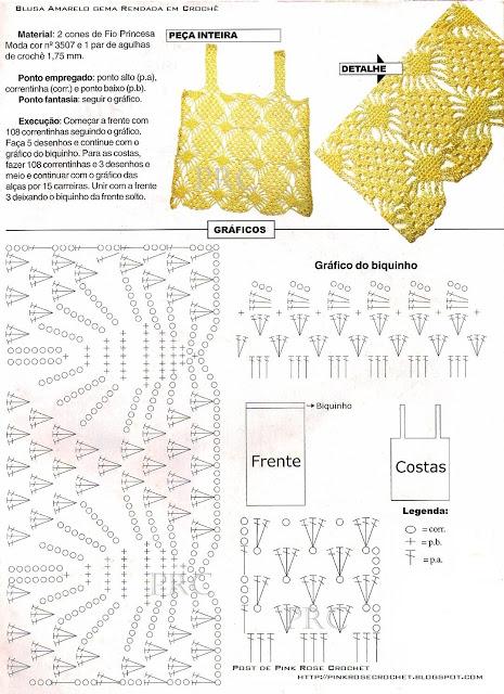 Простые схемы топиков крючком