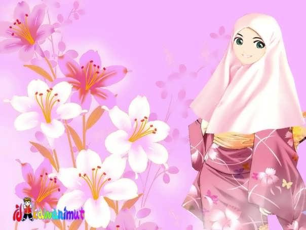 muslimah japan muslimah love muslimah bunga sakura muslimah putih