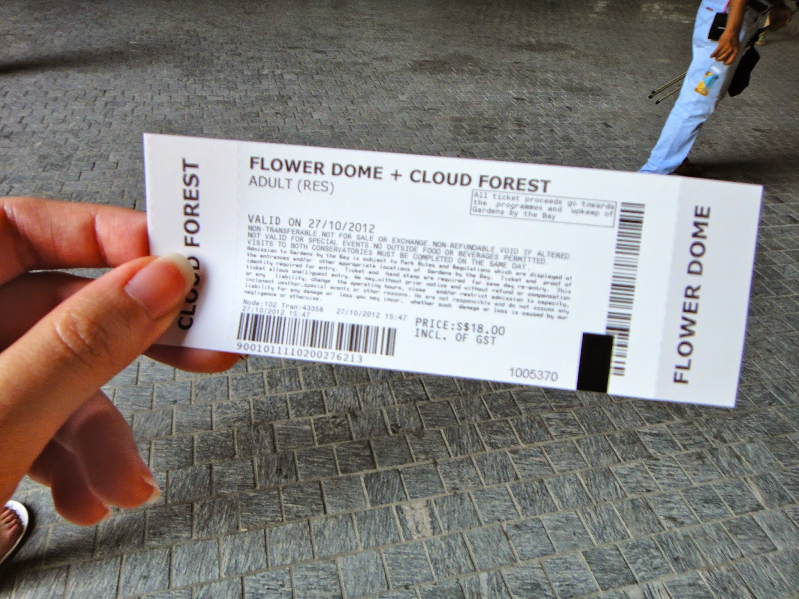 Simple Garden By The Bay Food And Cloud Forest Adult Ticket Gardens To Decor