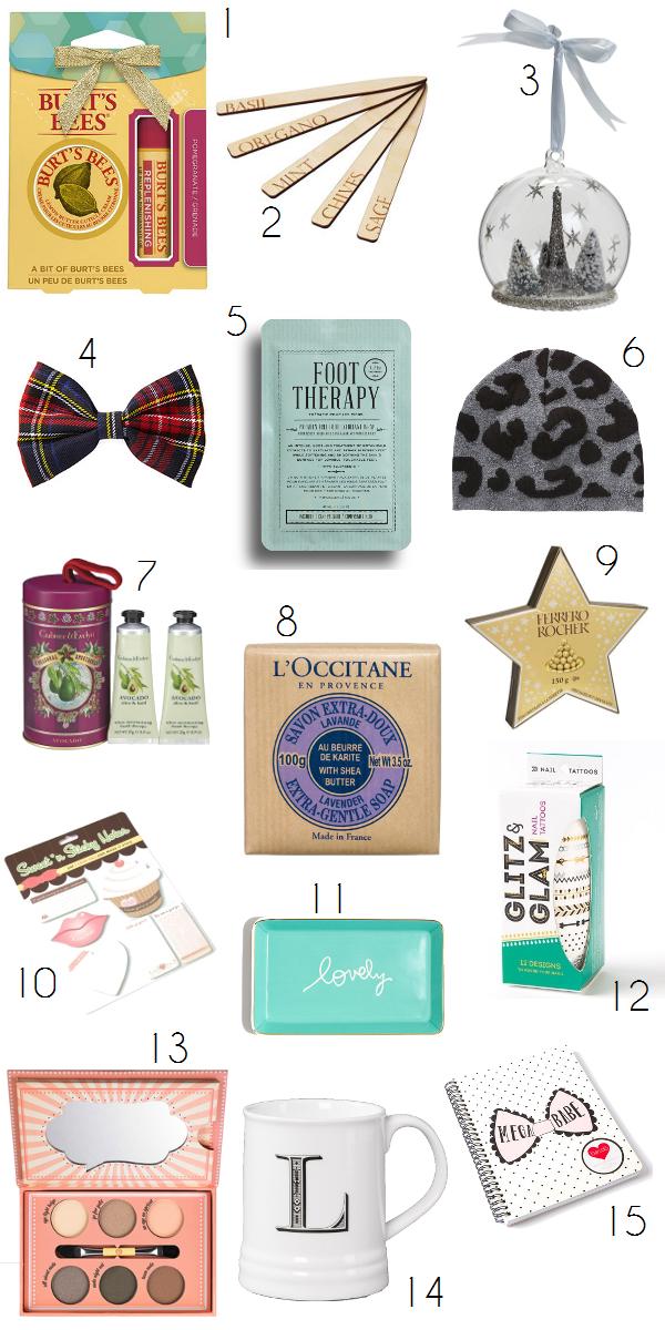 15 gift ideas under $15