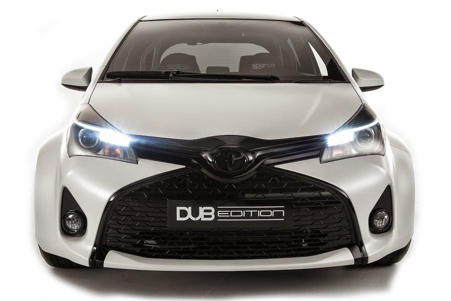 Toyota Yaris DUB Edition (2015) Front