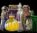 Ingredienti in bottiglia