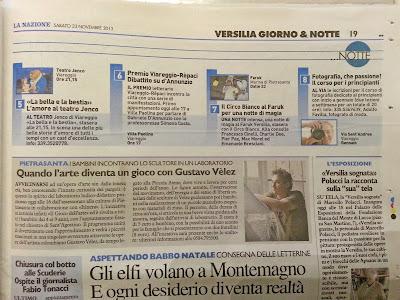 La Nazione, Italia. 23 de noviembre de 2013.
