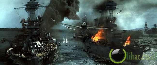 Adegan peperangan dalam PEARL HARBOR