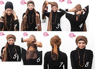 Cara Memakai Turban Style